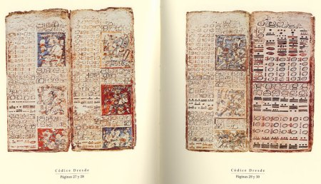 Dresden Codex, leaves 27-30 (from Compendio Xcaret)