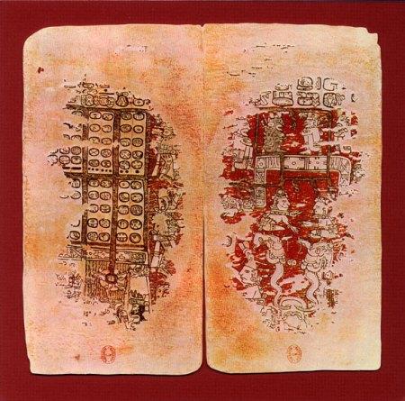 Paris Codex, leaves 21-22 (from Compendio Xcaret)