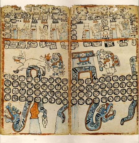 Madrid Codex, leaves 13-16