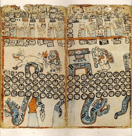 Madrid Codex, leaves 13-16