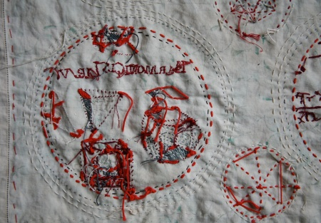 willemien de villiers | detail, underside \ the mysteries